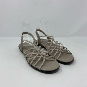 Naturalizer Tan Strappy Sandals Womens Size 9.5